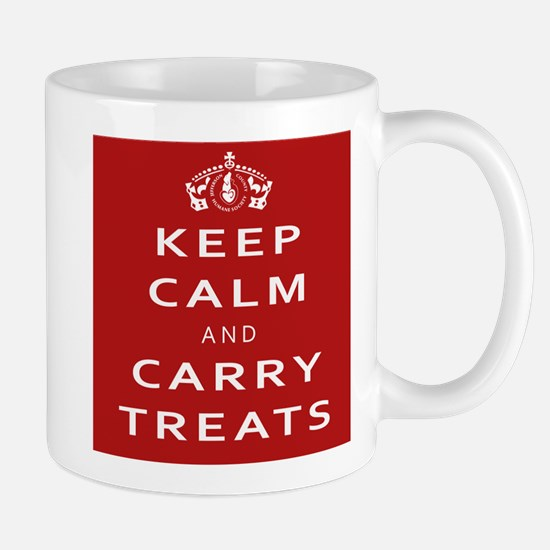 Keep Calm And Carry Stainless Steel Travel Mugs