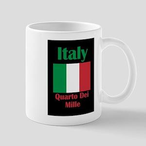 Quarto Dei Mille Italy Mugs