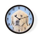 Golden Retriever Wall Clock
