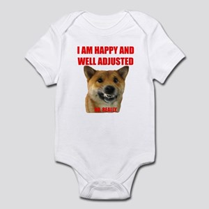 Well Adjusted Shiba Infant Bodysuit