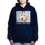 Golden Retriever Women's Hooded Sweatshirt