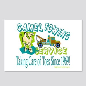 Camel Towing Postcards (Package of 8)