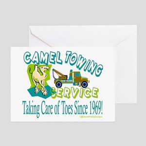 Camel Towing Greeting Card