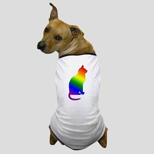 Rainbow Gay Pride Cat Dog T-Shirt