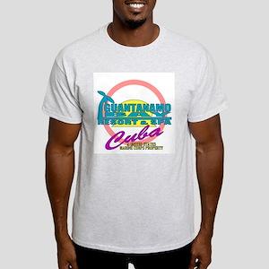Guantanimo Bay (Gitmo) Ash Grey T-Shirt
