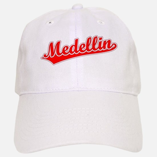 Retro Medellin (Red) Baseball Baseball Cap