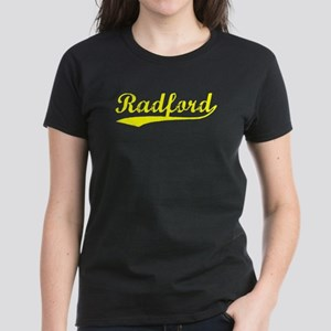 Vintage Radford (Gold) Women's Dark T-Shirt