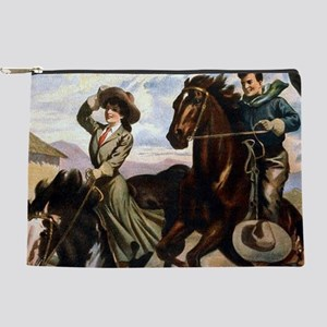 Equestrian Wild West Cowboy Makeup Bag