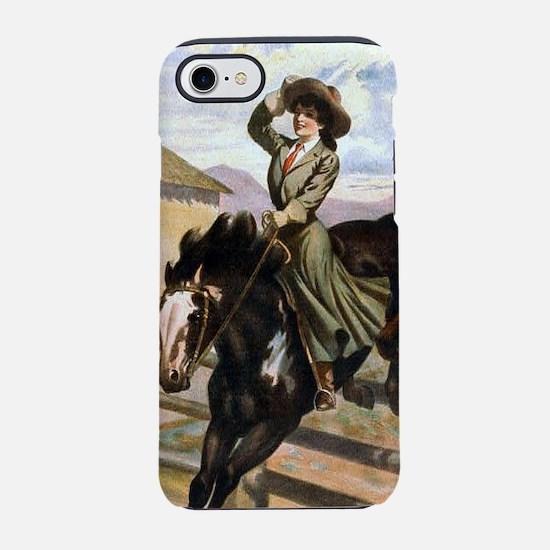 Equestrian Wild West Cowboy iPhone 8/7 Tough Case