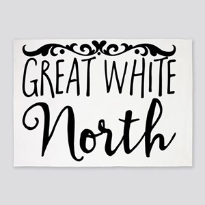 Great White North 5'x7'Area Rug