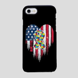 USA Autism iPhone 8/7 Tough Case