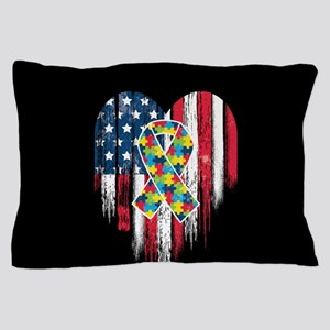 USA Autism Pillow Case