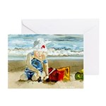 Beach Baby Greeting Cards (Pk of 10)