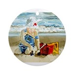 Beach Baby Keepsake (Round)