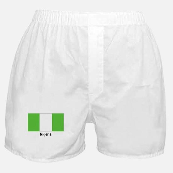 Nigeria Nigerian Flag Boxer Shorts