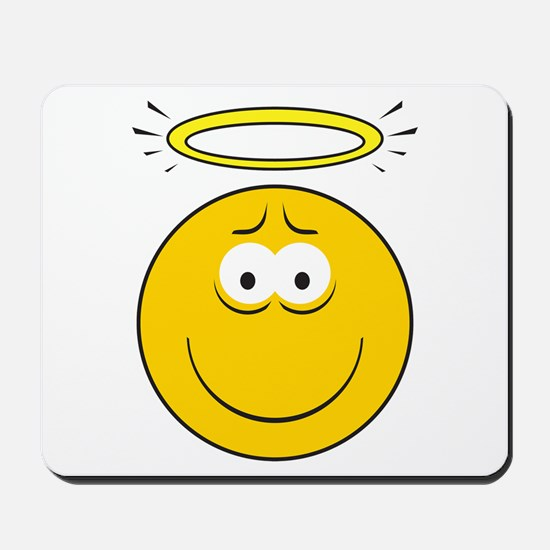 Angel Smiley Face Mousepad