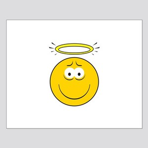 Angel Smiley Face Small Poster