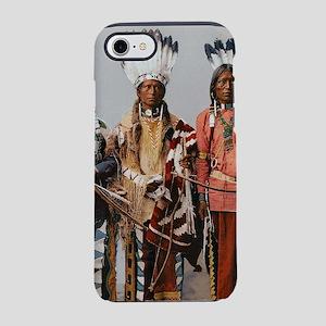 Native American apache worri iPhone 8/7 Tough Case