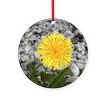Dandelion Ornament (Round)