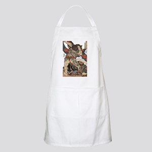 japanese tattoo warrior Samurai Light Apron
