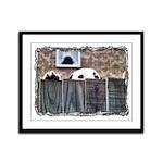 ...Dalmatian 17... Framed Panel Print