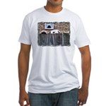 ...Dalmatian 17... Fitted T-Shirt