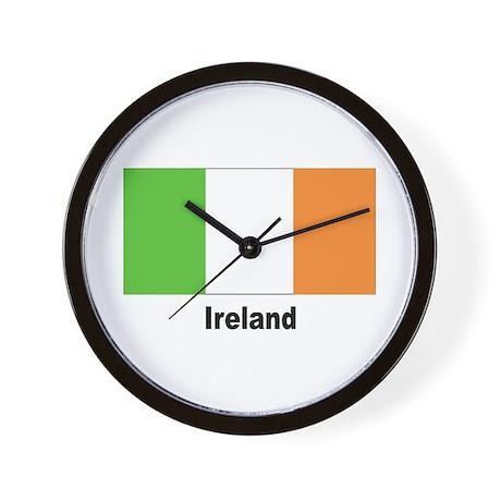 Ireland Irish Flag Wall Clock
