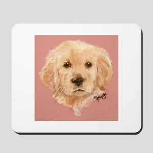 Golden Retriever Puppy 2 Mousepad