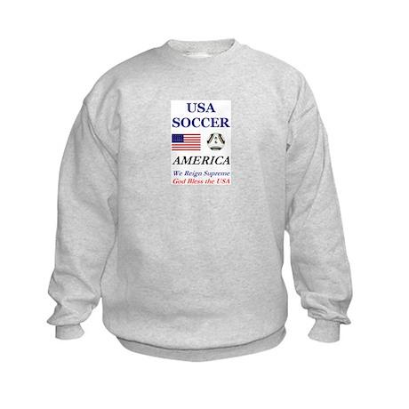 USA World Soccer 2014 Kids Sweatshirt