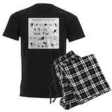 Skateboarding Men's Dark Pajamas