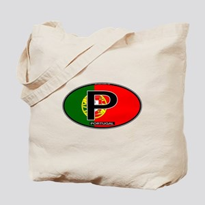 Portugal Oval Colors Tote Bag
