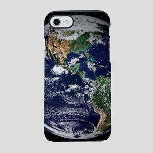 universe galaxy planet earth iPhone 8/7 Tough Case