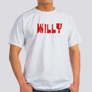 Willy Faded (Red) Light T-Shirt
