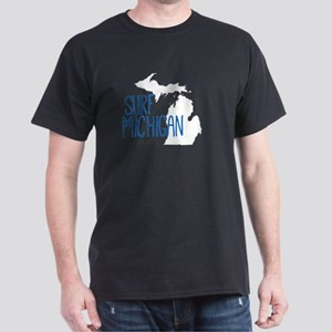 Surf Michigan Skinny T-Shirt