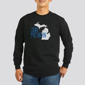 Surf Michigan Skinny Long Sleeve T-Shirt