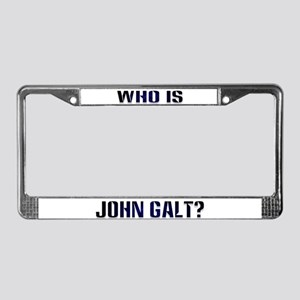Who is John Galt License Plate Frame