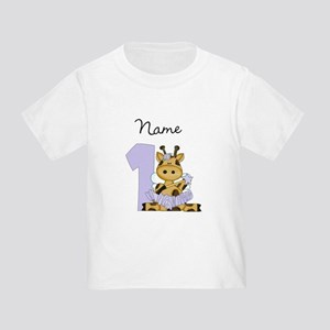 Personalized Giraffe Fairy 1 T-Shirt