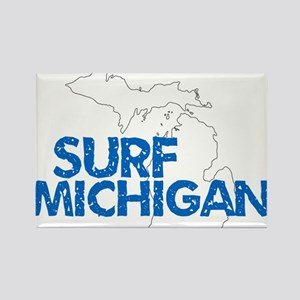 Surf Michigan Chipped Magnets
