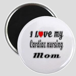 I Love My CARDIAC Nusing Mom Magnet