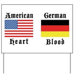 American German Yard Sign