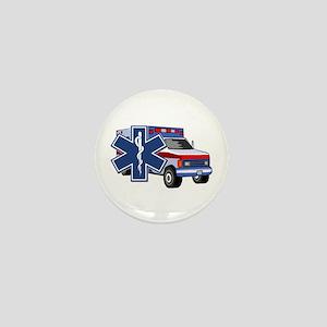 EMS Ambulance Mini Button