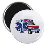"EMS Ambulance 2.25"" Magnet (100 pack)"