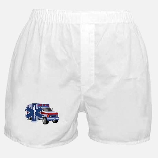 EMS Ambulance Boxer Shorts