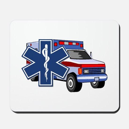 EMS Ambulance Mousepad