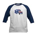 EMS Ambulance Kids Baseball Jersey