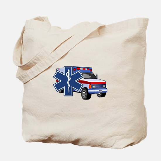 EMS Ambulance Tote Bag