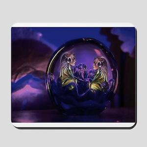 Purple women Mousepad