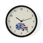 EMS Ambulance Wall Clock