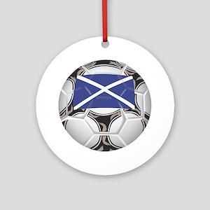 Scotland Championship Soccer Keepsake (Round)