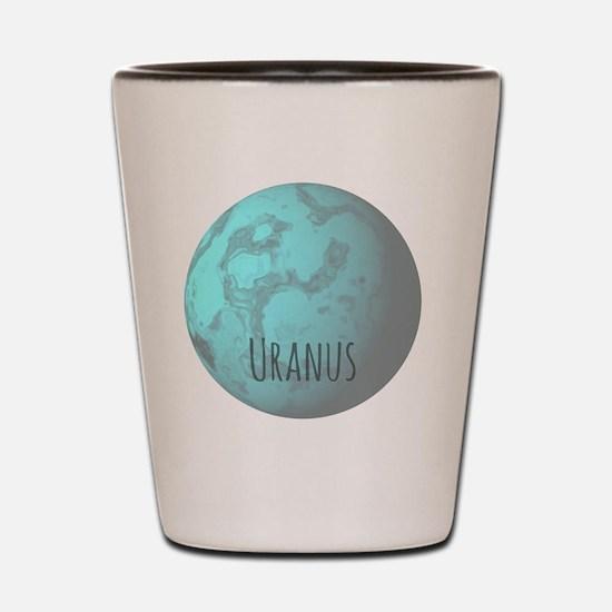 Cute Uranus Shot Glass